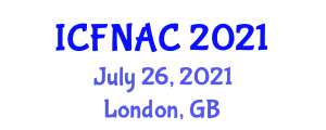 International Conference on Food Nanotechnology Applications and Chemistry (ICFNAC) July 26, 2021 - London, United Kingdom