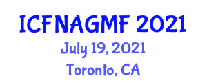 International Conference on Food Nanotechnology Applications and Genetically Modified Foods (ICFNAGMF) July 19, 2021 - Toronto, Canada
