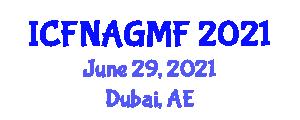 International Conference on Food Nanotechnology Applications and Genetically Modified Foods (ICFNAGMF) June 29, 2021 - Dubai, United Arab Emirates