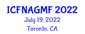 International Conference on Food Nanotechnology Applications and Genetically Modified Foods (ICFNAGMF) July 19, 2022 - Toronto, Canada