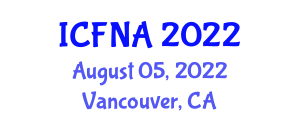 International Conference on Food Nanotechnology Applications (ICFNA) August 05, 2022 - Vancouver, Canada