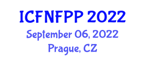International Conference on Food Nanotechnology in Food Processing and Packaging (ICFNFPP) September 06, 2022 - Prague, Czechia