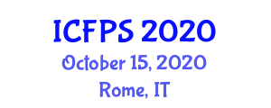 International Conference on Food Packaging and Safety (ICFPS) October 15, 2020 - Rome, Italy