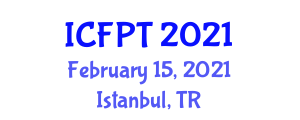 International Conference on Food Packaging Technologies (ICFPT) February 15, 2021 - Istanbul, Turkey