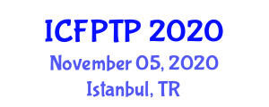 International Conference on Food Packaging Technology and Preservation (ICFPTP) November 05, 2020 - Istanbul, Turkey
