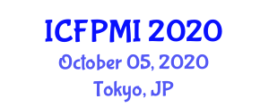 International Conference on Food Policy, Micronutrients and Ingredients (ICFPMI) October 05, 2020 - Tokyo, Japan