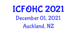 International Conference on Food Preservation and Home Canning (ICFOHC) December 01, 2021 - Auckland, New Zealand