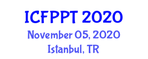 International Conference on Food Preservation and Packaging Technologies (ICFPPT) November 05, 2020 - Istanbul, Turkey