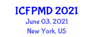 International Conference on Food Preservation Methods and Drying (ICFPMD) June 03, 2021 - New York, United States