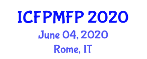 International Conference on Food Preservation Methods and Food Protection (ICFPMFP) June 04, 2020 - Rome, Italy