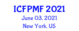 International Conference on Food Preservation Methods and Freezing (ICFPMF) June 03, 2021 - New York, United States
