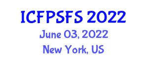 International Conference on Food Preservation Systems and Food Safety (ICFPSFS) June 03, 2022 - New York, United States