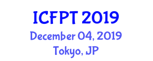 International Conference on Food, Processing and Technology (ICFPT) December 04, 2019 - Tokyo, Japan
