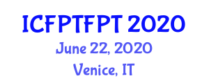 International Conference on Food Processing Technologies and Food Packaging Technologies (ICFPTFPT) June 22, 2020 - Venice, Italy
