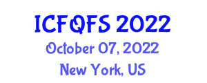 International Conference on Food Quality and Food Safety (ICFQFS) October 07, 2022 - New York, United States