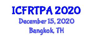 International Conference on Food Rheology and Texture Profile Analysis (ICFRTPA) December 15, 2020 - Bangkok, Thailand