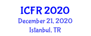 International Conference on Food Rheology (ICFR) December 21, 2020 - Istanbul, Turkey