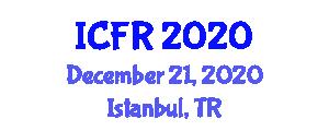 International Conference on Food Rheology (ICFR) December 21, 2020 - Istanbul, Turkey