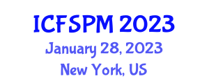 International Conference on Food Safety and Packaging Materials (ICFSPM) January 28, 2023 - New York, United States