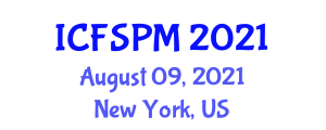 International Conference on Food Safety and Preservation Methods (ICFSPM) August 09, 2021 - New York, United States