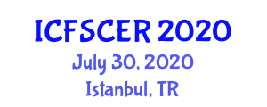 International Conference on Food Safety, Contamination and Enzymatic Reactions (ICFSCER) July 30, 2020 - Istanbul, Turkey