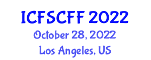 International Conference on Food Safety, Contamination and Functional Foods (ICFSCFF) October 28, 2022 - Los Angeles, United States