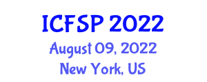 International Conference on Food Safety Preservation (ICFSP) August 09, 2022 - New York, United States