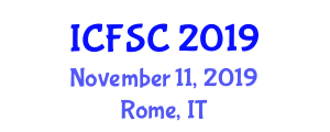 International Conference on Food Science and Components (ICFSC) November 11, 2019 - Rome, Italy