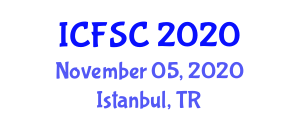 International Conference on Food Science and Components (ICFSC) November 05, 2020 - Istanbul, Turkey