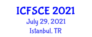 International Conference on Food Science, Contamination and Enzymatic Reactions (ICFSCE) July 29, 2021 - Istanbul, Turkey