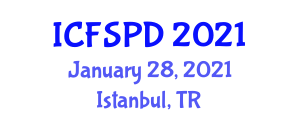 International Conference on Food Security and Plant Diseases (ICFSPD) January 28, 2021 - Istanbul, Turkey