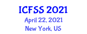 International Conference on Food Storage and Survival (ICFSS) April 22, 2021 - New York, United States