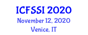 International Conference on Food Systems, Security and Insecurity (ICFSSI) November 12, 2020 - Venice, Italy