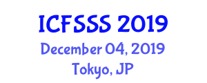 International Conference on Food Systems, Security and Stability (ICFSSS) December 04, 2019 - Tokyo, Japan