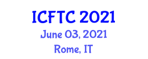 International Conference on Food Tourism and Culture (ICFTC) June 03, 2021 - Rome, Italy