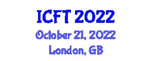 International Conference on Food Tourism (ICFT) October 21, 2022 - London, United Kingdom