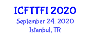 International Conference on Food Traceability Technologies in Food Industry (ICFTTFI) September 24, 2020 - Istanbul, Turkey
