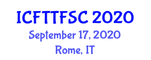 International Conference on Food Traceability Technologies in Food Supply Chains (ICFTTFSC) September 17, 2020 - Rome, Italy