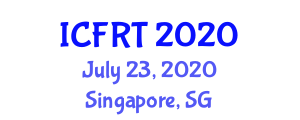 International Conference on Forensic Research and Toxicology (ICFRT) July 23, 2020 - Singapore, Singapore