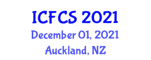 International Conference on Forest Carbon Sequestration (ICFCS) December 01, 2021 - Auckland, New Zealand
