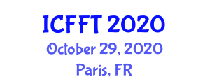 International Conference on Forest Finance and Taxation (ICFFT) October 29, 2020 - Paris, France