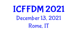 International Conference on Forest Fire Disaster Management (ICFFDM) December 13, 2021 - Rome, Italy