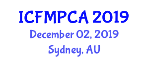 International Conference on Fracture Mechanics, Polymers, Composites and Adhesives (ICFMPCA) December 02, 2019 - Sydney, Australia