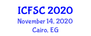 International Conference on Future Smart Cities (ICFSC) November 14, 2020 - Cairo, Egypt