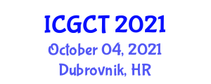 International Conference on Gastrointestinal Cancer Treatments (ICGCT) October 04, 2021 - Dubrovnik, Croatia