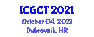 International Conference on Gastrointestinal Cancer Treatments (ICGCT) October 04, 2021 - Dubrovnik, Croatia
