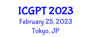 International Conference on Gastrointestinal Pharmacology and Toxicology (ICGPT) February 25, 2023 - Tokyo, Japan