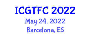 International Conference on Gastronomy Tourism and Food Culture (ICGTFC) May 24, 2022 - Barcelona, Spain