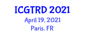 International Conference on Gastronomy Tourism and Rural Development (ICGTRD) April 19, 2021 - Paris, France