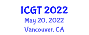 International Conference on Gastronomy Tourism (ICGT) May 20, 2022 - Vancouver, Canada